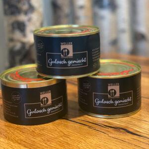 Gulasch küchenfertig in der Dose – Jetzt bestellen in unserem Webshop