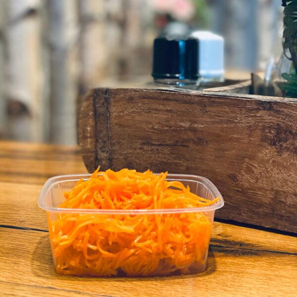 Karottensalat vom Metzger Weller aus frischen Karotten