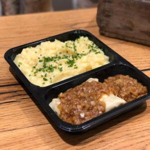 Maultaschen mit Kartoffelsalat hausgemachte Mittagessen bei WELLER