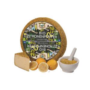 Baldauf Bio Zitronenpfeffer Käse aus unserer Feinkosterei