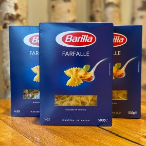 Barilla Farfalle –Jetzt Mittagessen bestellen in der Weller Feinkosterei