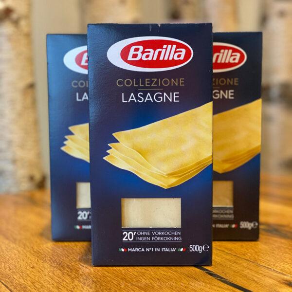 Barilla Lasagne im WELLER Feinkosterei Webshop