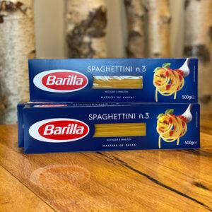 Spaghettini Nr. 3 von Barilla –Jetzt bestellen in unserem Feinkosterei Webshop