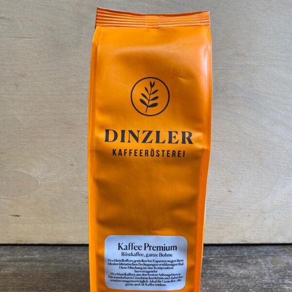 DINZLER Roma Kaffee Premium in der WELLER Weinkosterei