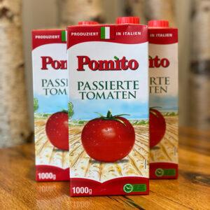 Pomito Passierte Tomaten für eine Tomatensauce wie in Italien